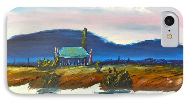IPhone Case featuring the painting Pittown by Pamela  Meredith