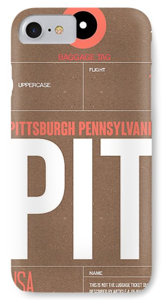 Pittsburgh Airport Poster 2 IPhone Case