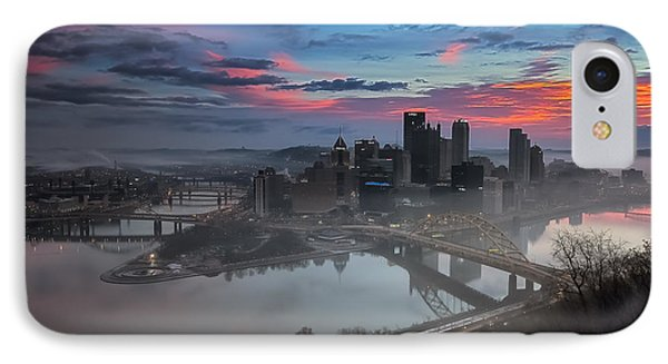 Pittsburgh January Thaw Phone Case by Jennifer Grover