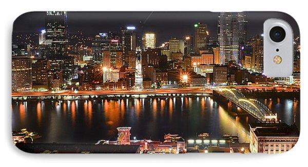 Pittsburgh Over The Monongahela IPhone Case