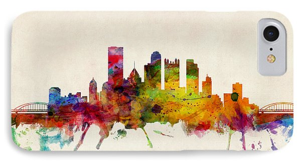 Pittsburgh Pennsylvania Skyline IPhone Case