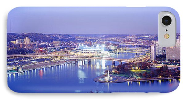 Pittsburgh, Pennsylvania, Usa IPhone Case by Panoramic Images