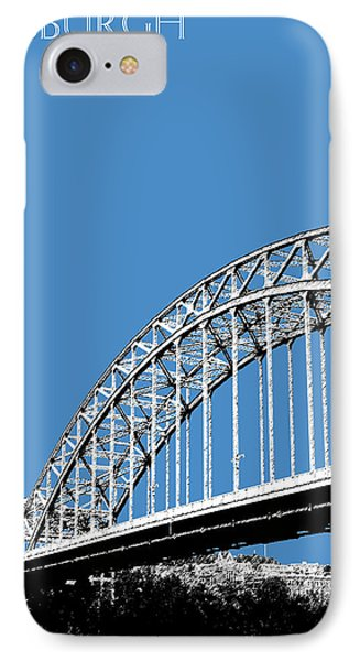 Pittsburgh Skyline 16th St. Bridge - Slate IPhone Case by DB Artist
