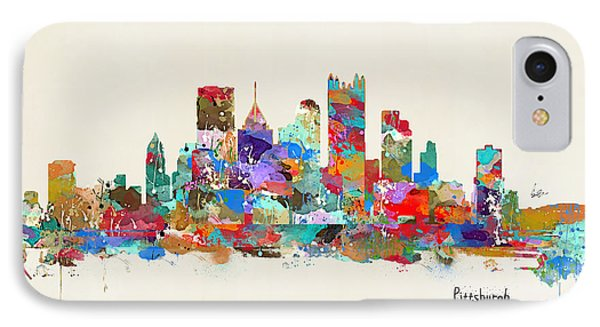 Pittsburgh Skyline Pennsylvania IPhone Case by Bri B