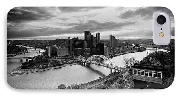 Pittsburgh Skyline1 IPhone Case by Emmanuel Panagiotakis