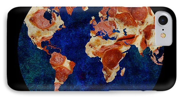 Pizza World IPhone Case