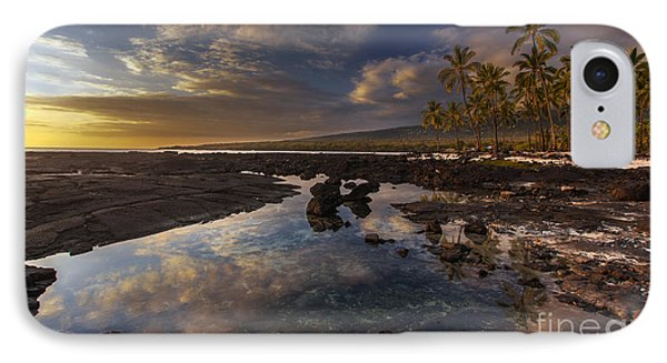 Place Of Refuge Sunset Reflection IPhone Case by Mike Reid