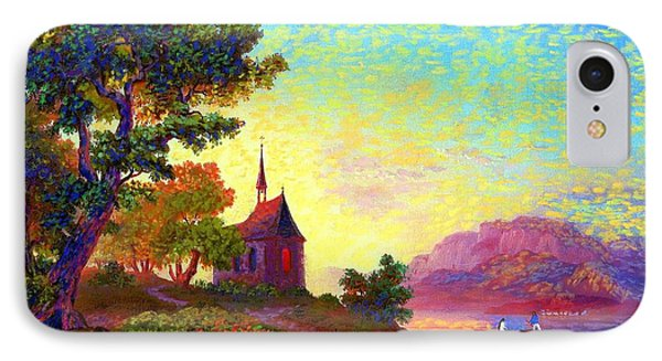 Beautiful Church, Place Of Welcome IPhone Case by Jane Small