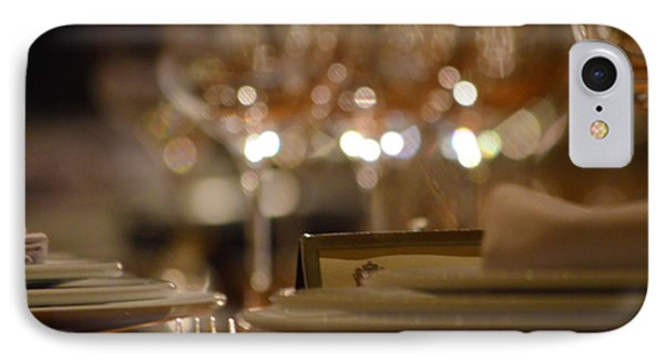 Place Setting 1 IPhone Case by Deprise Brescia