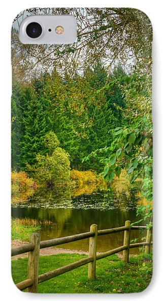 Placid Reflection IPhone Case by Chris McKenna