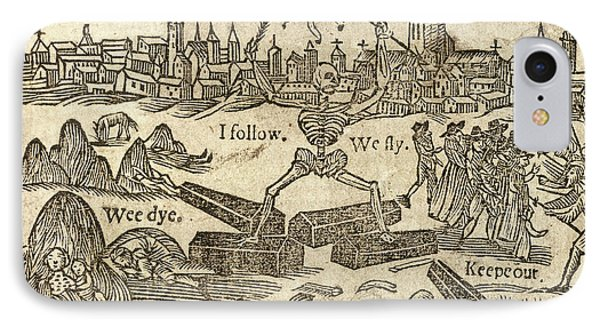 Plague In London IPhone Case by British Library
