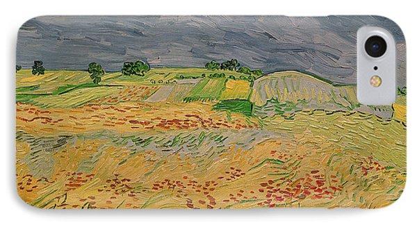 Plain At Auvers IPhone Case by Vincent Van Gogh