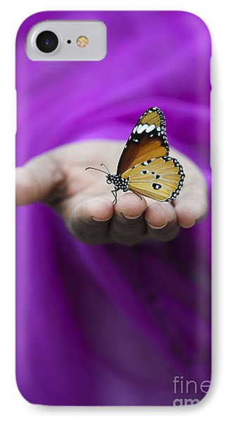 Plain Tiger Butterfly IPhone Case by Tim Gainey