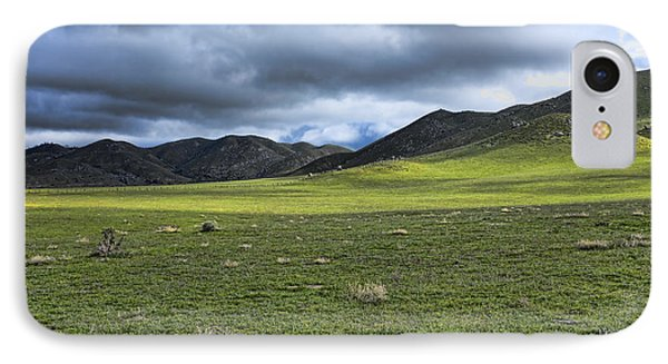 IPhone Case featuring the photograph Plains And Sierra Mountains by Hugh Smith