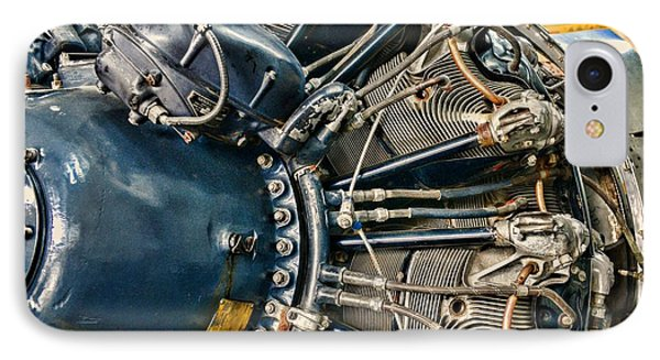 Plane Engine Close Up Phone Case by Paul Ward