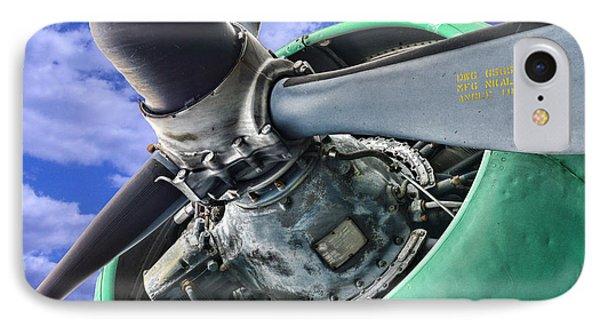 Plane Green Prop Phone Case by Paul Ward