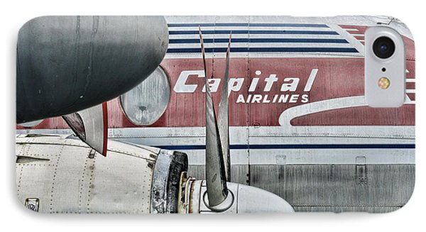 Plane Obsolete Airline Phone Case by Paul Ward