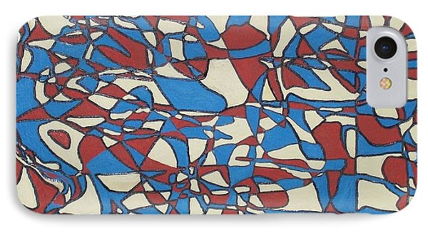 Planet Abstract Phone Case by Jonathon Hansen