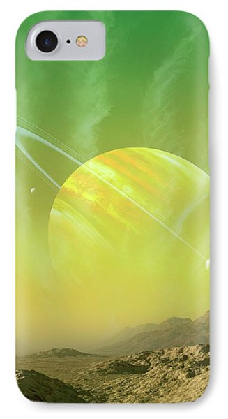 Planet Around Upsilon Andromedae IPhone Case by Mark Garlick