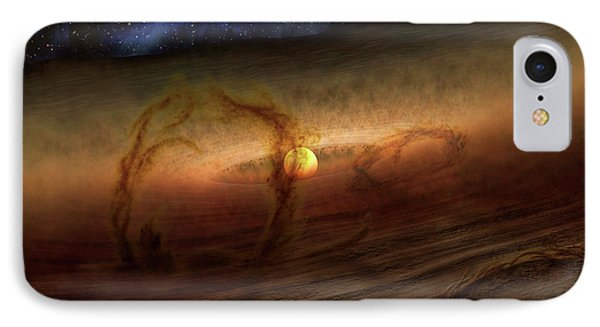 Planet-forming Region IPhone Case