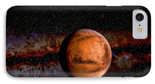 Planet - Mars - The Red Planet Phone Case by Paul Ward