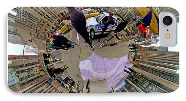 Planet New York City IPhone Case