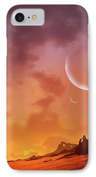 Planet Of Hd113538 IPhone Case by Mark Garlick