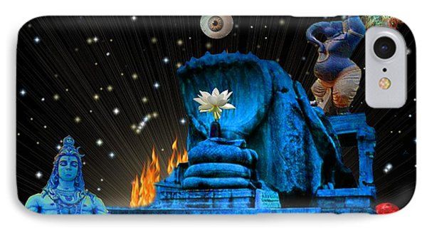 Planet Of Shiva  Phone Case by Jason Saunders
