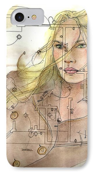 Planning Ahead IPhone Case by P J Lewis