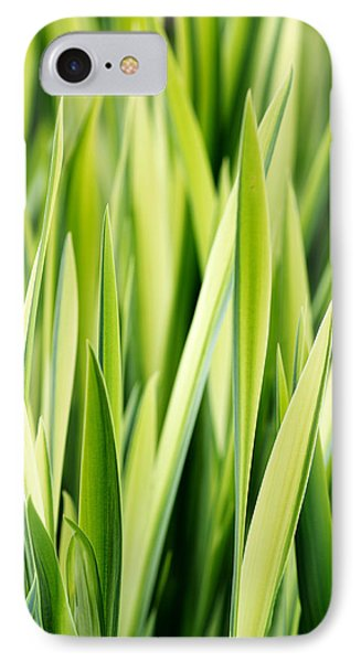 Plant Abstract 3 Phone Case by Rebecca Cozart