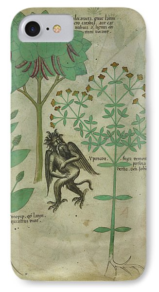 Plant And A Demon IPhone Case by British Library