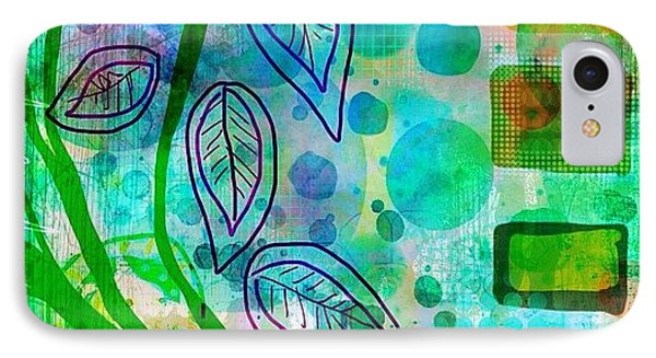 plant The Seeds #ipadart #art IPhone Case by Robin Mead