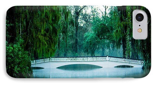 Plantation Bridge IPhone Case by Perry Webster
