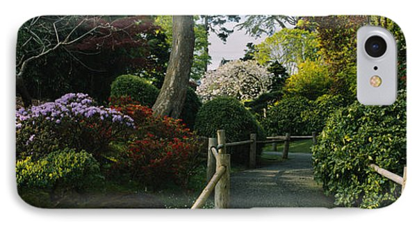 Plants In A Garden, Japanese Tea IPhone Case by Panoramic Images