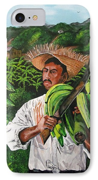 Platano Man Phone Case by Luis F Rodriguez