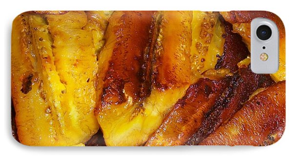 Platanos Maduros IPhone Case by Cleaster Cotton copyright