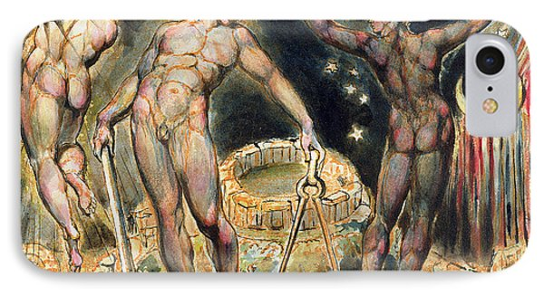 Plate 100 From Jerusalem Phone Case by William Blake
