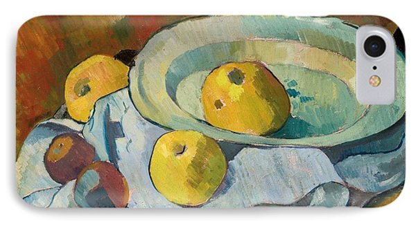 Plate Of Apples Phone Case by Paul Serusier