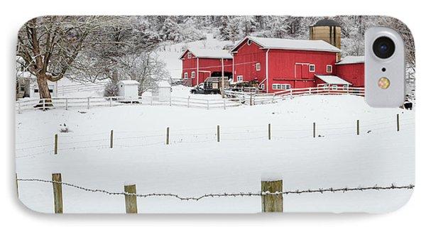 Platt Farm Square Phone Case by Bill Wakeley
