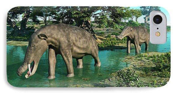 Platybelodon Prehistoric Proboscids IPhone Case