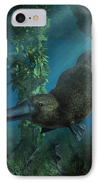 Platypus Phone Case by Daniel Eskridge