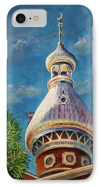 Play Of Light - University Of Tampa IPhone Case