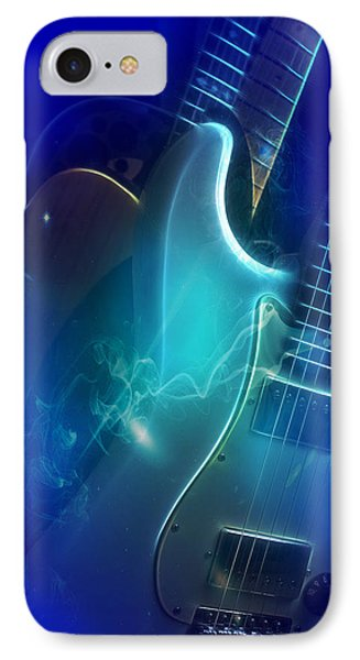 Play Them Blues IPhone Case by John Rivera