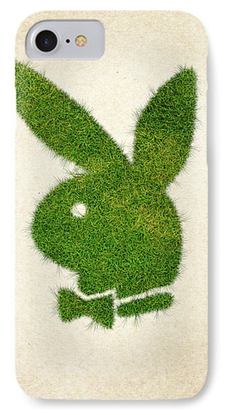 Playboy Grass Logo IPhone Case