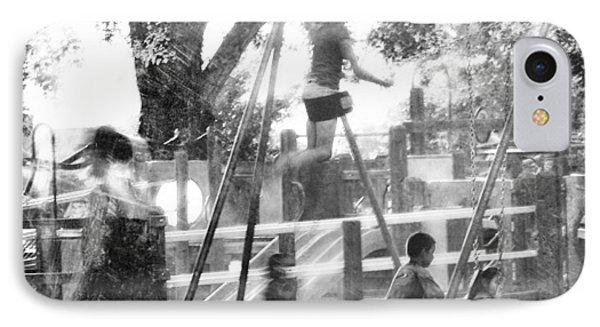 Playground Phone Case by Theresa Tahara
