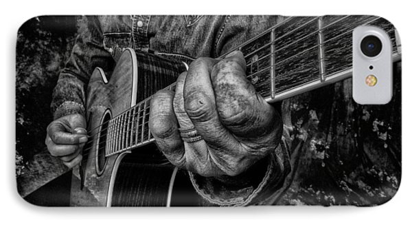 Playin The Blues IPhone Case by Kevin Cable