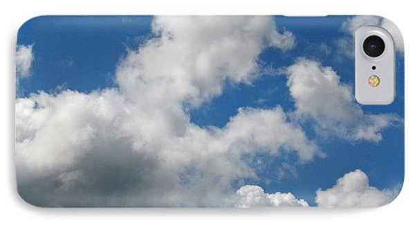 Playing Among The Clouds IPhone Case