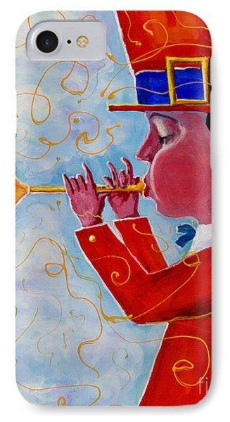 Playing For The Clouds IPhone Case by Maxim Komissarchik