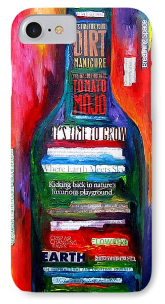 Playing In The Dirt Phone Case by Patti Schermerhorn