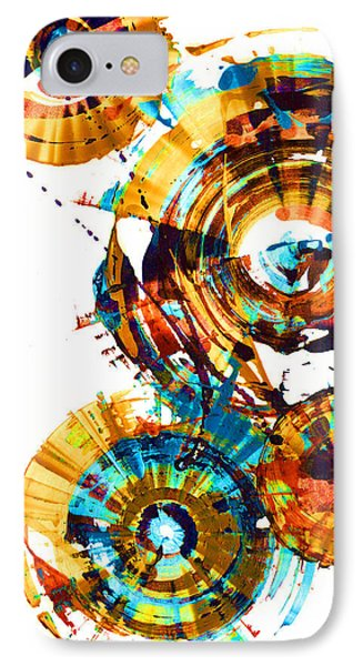 Playing In The Wind 1000.042312 - Popart-1 IPhone Case by Kris Haas